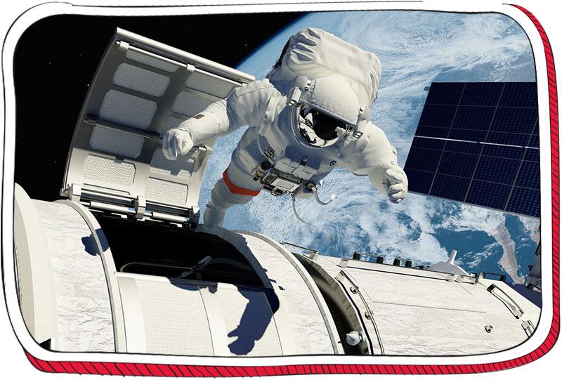 אסטרונאוט בחלל