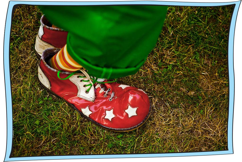 נעלים של ליצן
