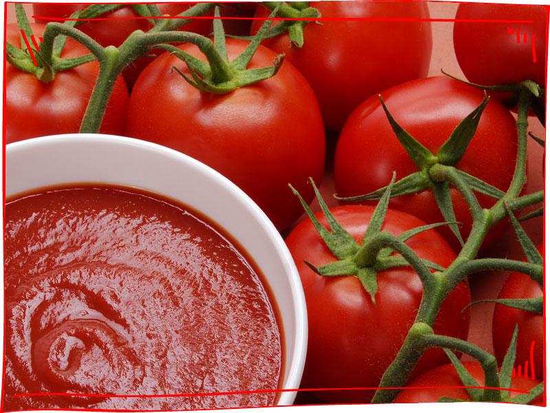 עגבניות ורוטב עגבניות